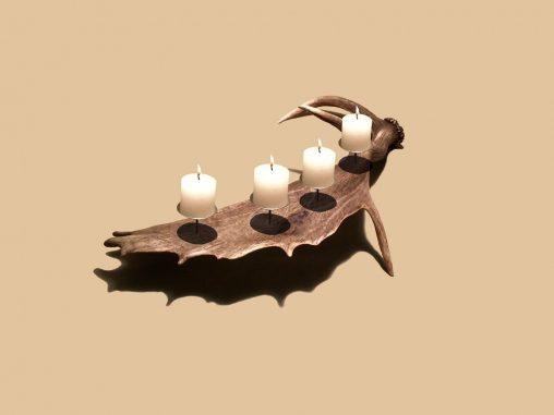 Geweih Kerzenständer