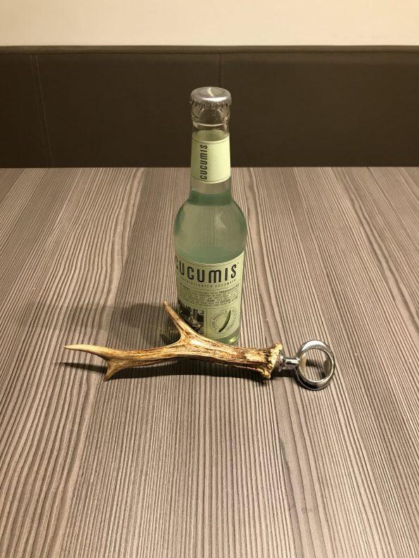 Geweih Flaschenöffner aus einem Rehgeweih