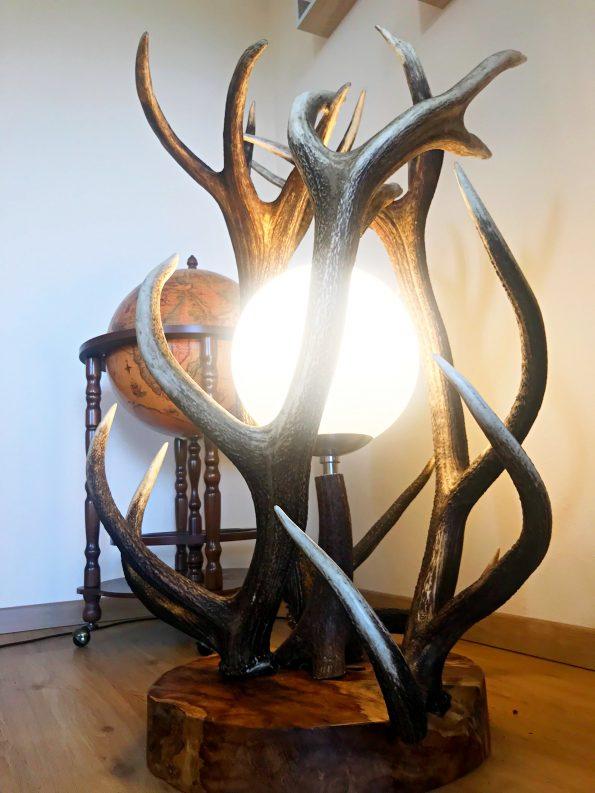 Almhütte Stehlampe