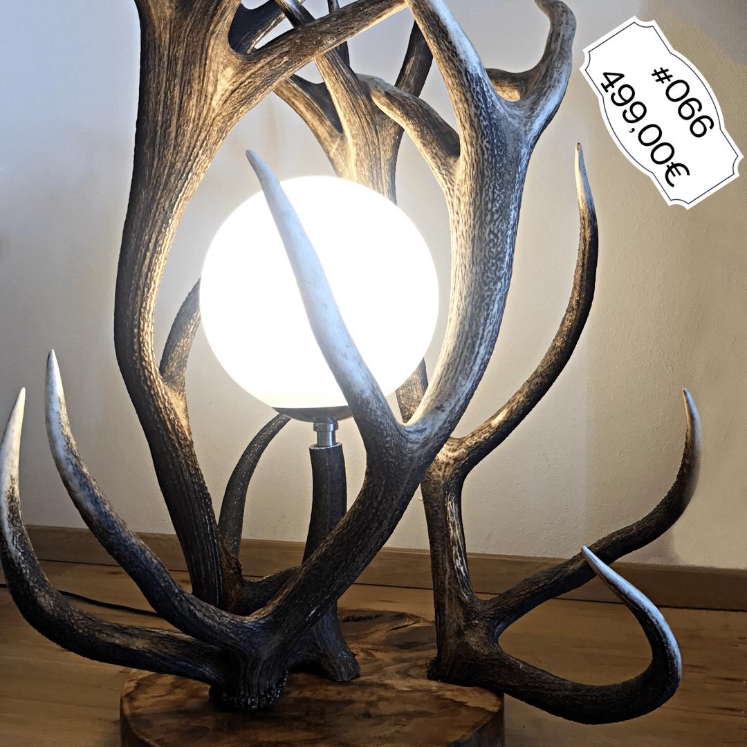 Geweih stehlampe oh my deer ihre adresse f r geweih artikel for Lampe geweih modern